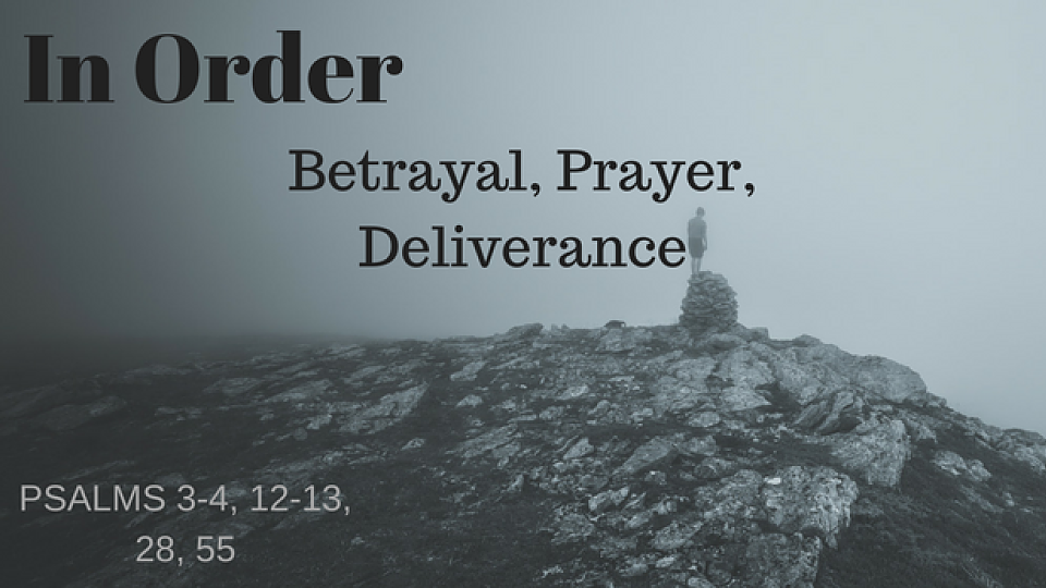 Reach Youth Global · In Order  Betrayal, Prayer, Deliverance · Reach